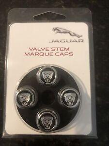 Jaguar valve stem caps genuine C2C39770