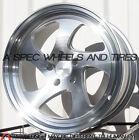 19X9.5 +22 Varrstoen Mk2 5x114.3 +22 Silver Wheel Fits 240Sx Silvia Skyline R33