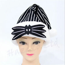 The Nightmare Before Christmas Jack Christmas Stripped Hat Cosply Costume New