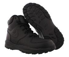 Nike Manoa LTR Boys Shoes Size 2.5, Color: Black/Black/Black