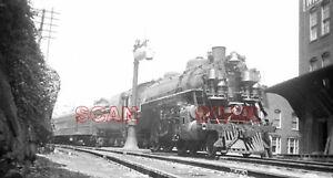 OFF999C  NEGATIVE/RP 1950s/60s CHESAPEAKE & OHIO RAILROAD LOCO #461