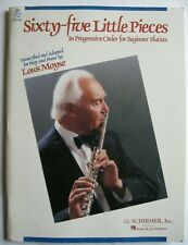 Sixty-Five Little Pieces In Order for Beginner Flutists Louis Moyse / Flute