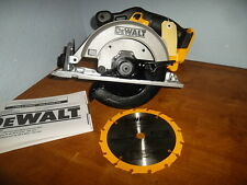 "DEWALT DCS391B 20-Volt Max Lithium-Ion 6 1/2"" Cordless Circular Saw DCS391"