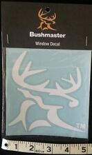 Bushmaster Window Decal - car, van, truck, motorcycle sticker - FREE SHIPPING