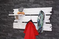 Garderobe Haken Paneel Shabby Vintage Europalette Palettenmöbel Flurgarderobe 12
