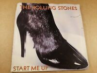 """The Rolling Stones : Start Me Up : Vintage 7"""" Vinyl Single from 1981"""