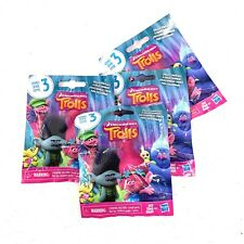 Lot of Four(4) Dreamworks TROLLS Series 3 Blind Bags NEW-RANDOM