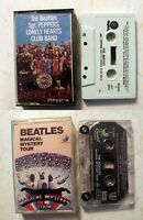 Cassette: Beatles: Sgt Peppers Lonely Hearts Club Band + Magical Mystery Tour
