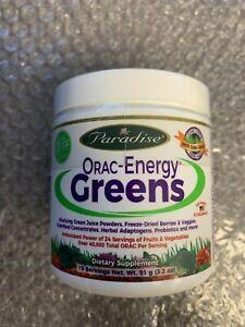 **Sale** Paradise Herbs ORAC-Energy Greens 3 2 oz 91 g-Free Shipping-Exp:12/19