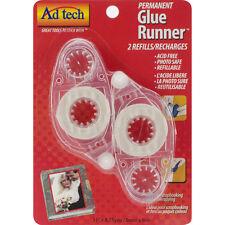 "Permanent Glue Tape Runner Refill 2/Pkg-.31""X8.75yd, For Use In 05620"