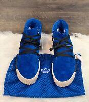 Adidas x Alexander Wang AW Skate Mid Bluebird Blue Gum Suede Men's Size 11.5