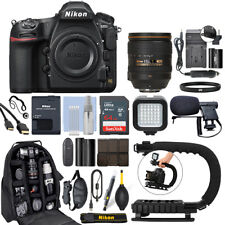 Nikon D850 FX DSLR Camera with 24-120mm f/4G AF-S ED VR Lens+ 64GB Pro Video Kit