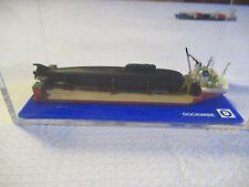 BOB DOESEMA Dockwise Heavy Lift Ship mit U Boot Ladung in Vitrine 1:1250