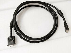 Inline DVI-D Kabel 3m, Premium,  24+1 Stecker, Dual Link, WQXGA 2560×1600
