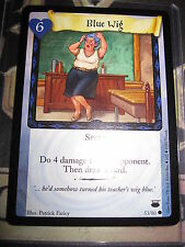 HARRY POTTER TCG CARD GAME DIAGON ALLEY BLUE WIG 53/ 80 COM ENGLISH MINT NEUF