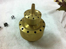 "1 1/2"" Brass Double Layer Style Fountain Nozzle Fountain Head"