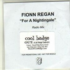 (CI385) Fionn Regan, For A Nightingale - 2011 DJ CD