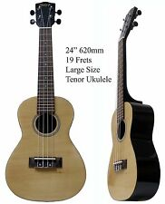 "New Quality Size 24"",62cm 19 Frets Concert/Tenor Ukulele 4 high quality strings"