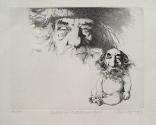 "CHARLES BRAGG ""AND HE SAW THAT IT WAS GOOD"" Hand Signed Limited Edition Etching"