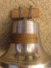 The First National Bank Plainville Kansas Kans KS.  Liberty Bell Vintage
