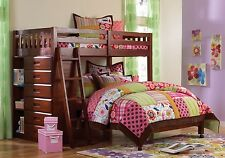 L Shaped Bunk Beds with Dresser