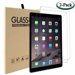 2 Pack Tempered Glass Screen Protector For Apple iPad 7th / 8th Generation 10.2