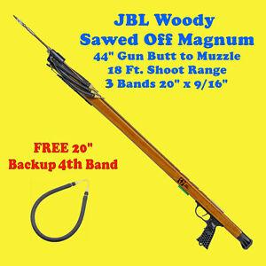 JBL Woody Sawed Off Magnum SpearGun Fish Scuba Free Dive Snorkel Shoot spear gun