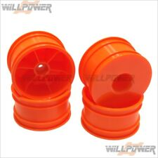 CRT.5 Dish Wheel, Orange #TMS-29O (RC-WillPower) Hongnor Jammin Truck
