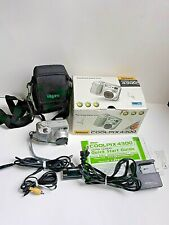 Nikon Coolpix 4300 4.0Mp Digital Camera ~ Silver With Accessories
