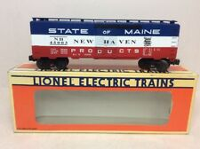 LIONEL NEW HAVEN STATE OF MAINE BOXCAR 6-17217 L7519 NOS