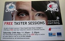 Advertising Free Taster Sessions Education South East Essex College - unposted