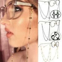 Women Eyeglass Reading Glasses Strap Sunglasses Chain Neck Lanyard Cord Holder