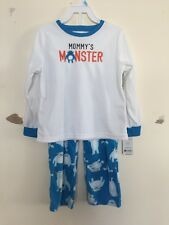 Freeshipping NWT Carter's Baby Boys Mommys Monster Fleece Pajamas Size 18M 2T 5T