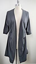 NEW LULULEMON Coal Gray Namaste Coverup sweater jacket wrap size 4 NWT SOLD OUT