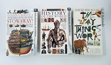 DK Multimedia STOWAWAY History of the World Way Things Work Educational PC Games
