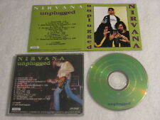 NIRVANA UNPLUGGED CD On Stage Records ‎CD/ON 2285 Italy 1994 Rare Excellent