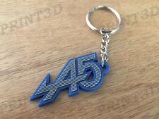 Porte clés / Keychain PVC souple Renault 5 Alpine A5 capot calandre gris/bleu
