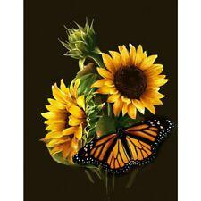 Diy 5D Diamond Painting Craft Sunflower Kits Embroidery Mosaic Art Home Decor