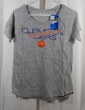 Champion Clemson Tigers Short Sleeve V-Neck Size Small