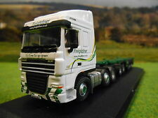 Oxford DAF 105 & D-Tec scheletrico Container Rimorchio Freightliner 1/76 DAF03CT