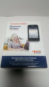 Consumer cellular Huawei Vision new sealed Activation Not Included