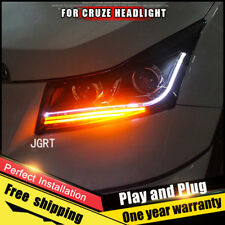For chevrolet cruze Headlight assembly Bi-Xenon Lens Double Beam HID KIT 11-15