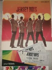 Jersey Boys Program Tickets and wristband 2012 Australia Tour Adelaide Festival