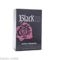 Paco Rabanne Black XS Femme EDT 80ml Eau de Toilette NEUF & Authentique Parfum