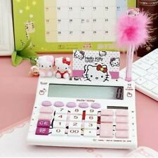 Hello Kitty Collectors Solar Powered Calculator (includes stationary