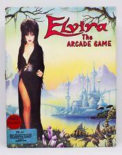 ELVIRA THE ARCADE GAME - PC EUROPA - CAJA GRANDE DE CARTON 2 II