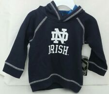 NEW Notre Dame Fighting Irish Colosseum Pull Over Hoodie Infant Girl's 6-12 Mo