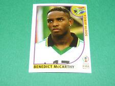 N°168 McCARTHY SOUTH AFRICA PANINI FOOTBALL JAPAN KOREA 2002 COUPE MONDE FIFA