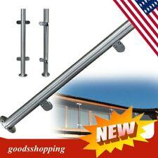 90/110cm High Glass Balustrade Railing Glazing Stainless Steel Posts Handrail