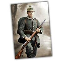 "German soldier's uniform of the first world war in color Photo WW1 ""4 x 6"" J"